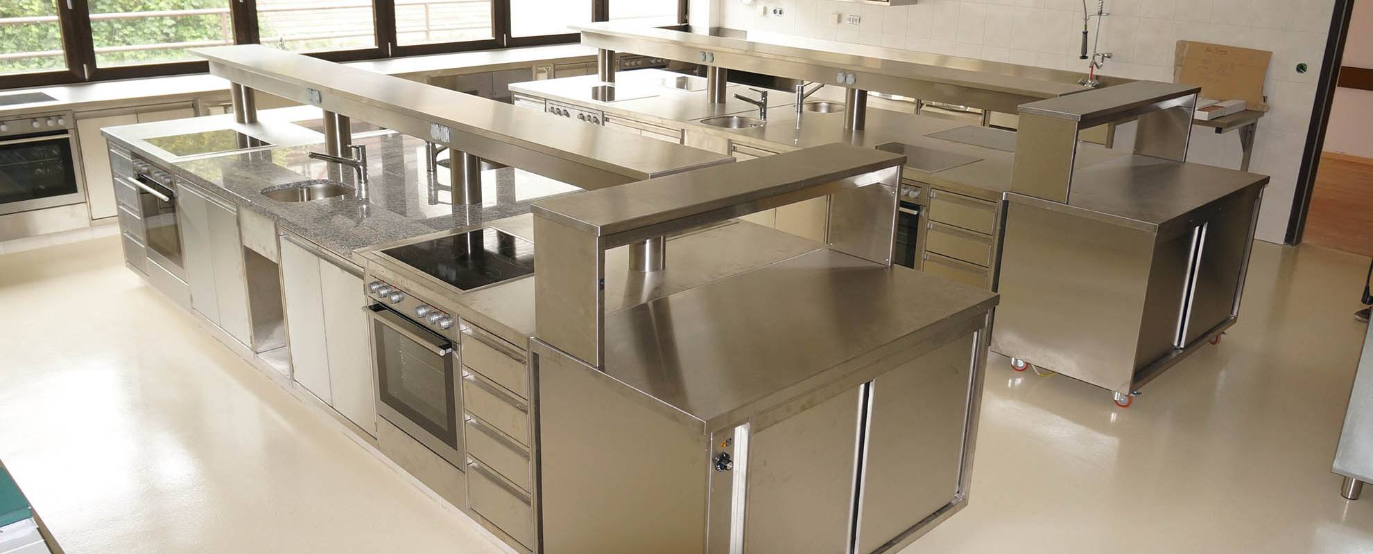 Planung und Design von Großküchen   MPR Design